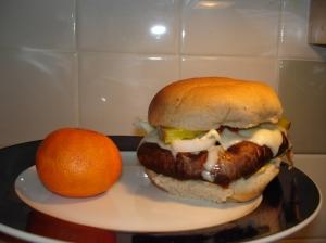 Final Portabello Burger