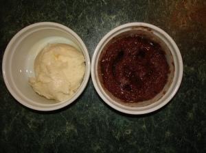 Micro Cake and Ice Cream